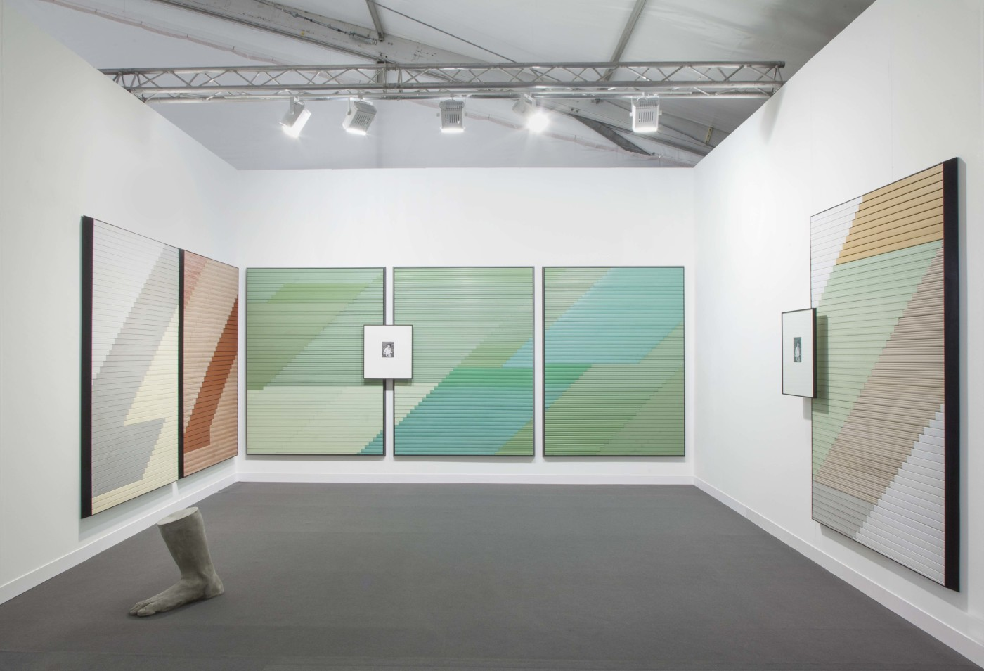 Frieze Focus, 2014, Installation View, London, UK